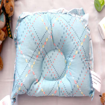 Semi Circle Pillow(blue)