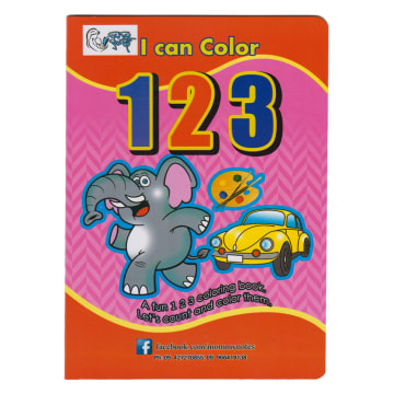 I can Color 123
