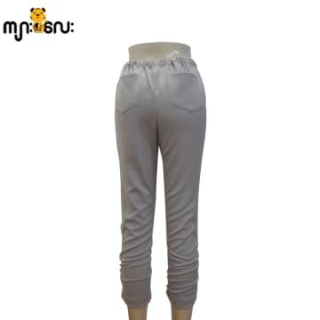 (Large Size) Legging Gray 3/4 Pants