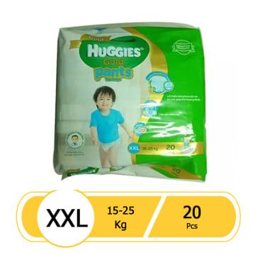 Huggies (Gold Pants)  Over Night  XXL 20 boy