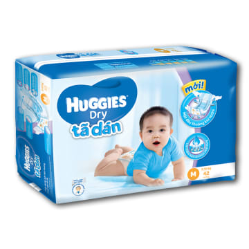 Huggies Dry Diaper Jumbo M - 42