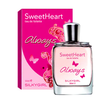 Silkygirl Sweetheart Range EDT (SweetHeart Always EDT 50ml )