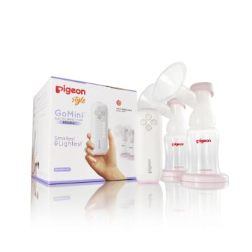 Pigeon Mini Electric Double Breast Pump