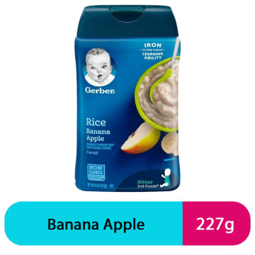 Gerber Rice Banana apple (227g)