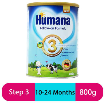 Humana Gold 3 Folow On Fomula (800g/Tin)