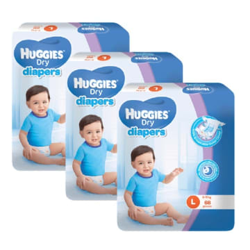 Huggies Diaper Super Jumbo L 68