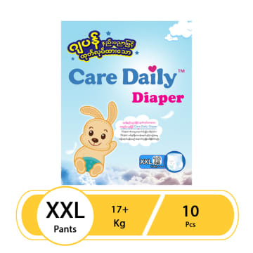 Care Daily Diaper Pant - XXL (10 Pcs)