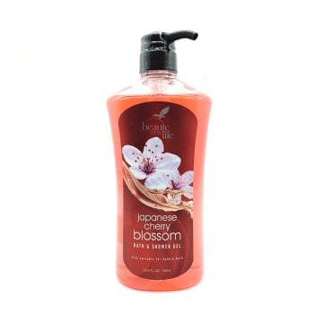 Beaute Life Shower Gel-Cherry (Red) 760ml