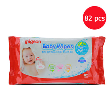 Pigeon Water-based Wet Tissue (82 Pcs)