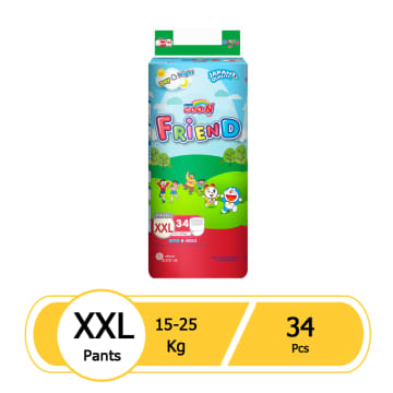 Goo.N Friend Pant XXL 34pcs