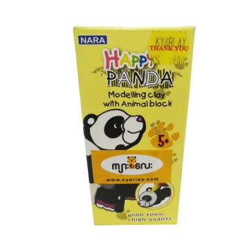 Modeling Clay with Animal BlOCK Happy Panda