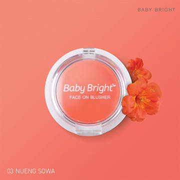 Baby bright Face On Blusher 5g #03 Nueng Sowa