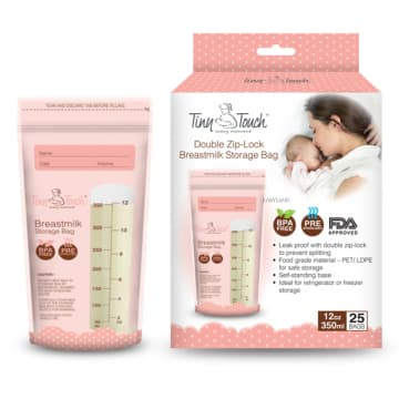 Tiny Touch Breast Milk Storage Bags ( 12oz )