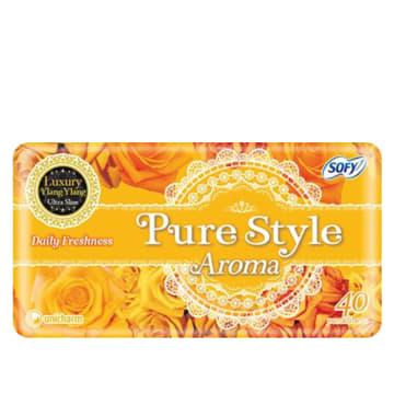 Sofy Pure Style Aroma Pantiliner Luxury Ylang Ylang - 14cm (40pcs)