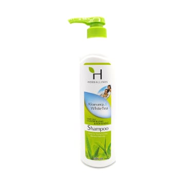 Herballines Shampoo Aloeverea & White Tea 1000ml