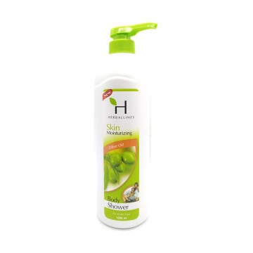 Herballines Shower Olive Oil 1000ml