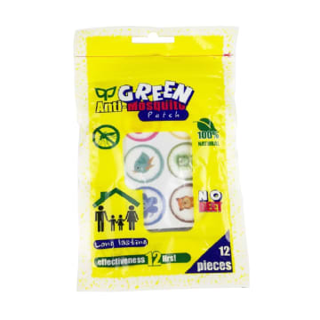 Green Anti-Mosquito Patch 12 pcs