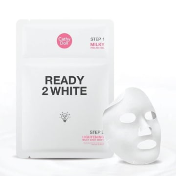 Cathy Doll - Ready 2 White Lightening Milky Mask Sheet 35ml+25g