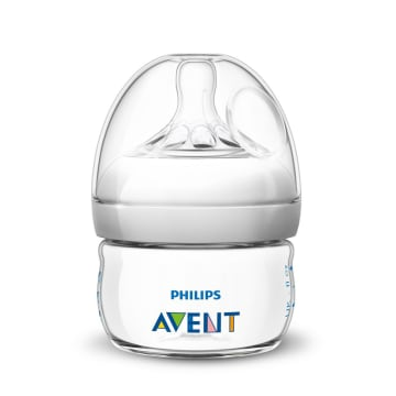 Philip Avent Natural Baby Bottle Single 60ml/2oz SCF-039/17