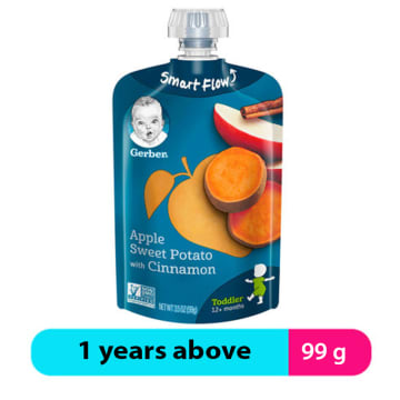 Gerber Apple Sweet Potato Cinnamon Puree (1 years +)