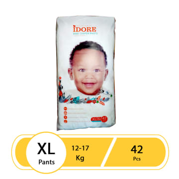 Idore Baby Diaper Pants XL(42 Pcs)