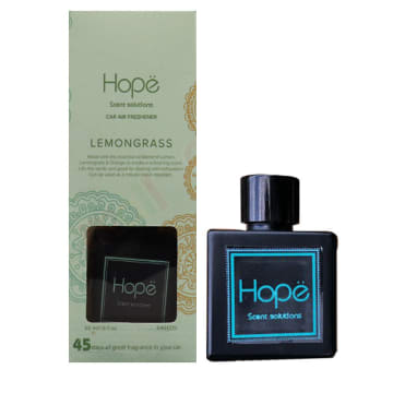 Hope - Car Diffuser Lemongrass (50ml)