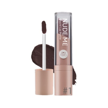 Cathy Doll - Nude Me Liquid Lip Matte#01(True Brown)