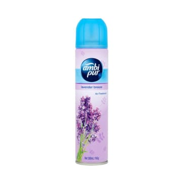 Ambi Pur Air Fresh Lavender Breeze Fresh 300ml