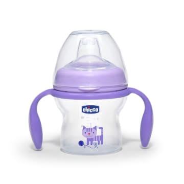 Chicco N Feeling Transition Bottle 150ml Purple