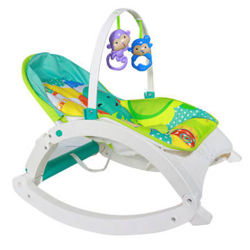 2 in 1 Baby Rocker (Blue)