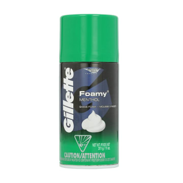 Gillette Shaving Cream Menthol  175g
