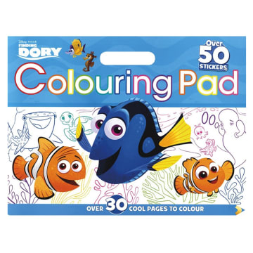 Disney Pixar Finding Dory Colouring Floor Pad: Over 30 Cool Pages