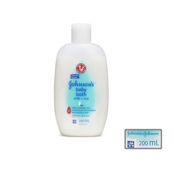 Johnson's baby lotion milk+rice 200ml