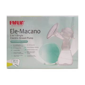 Farlin-2 in 1 Single Electirc Breast Pump - FLAA-12014