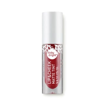 Baby Bright - Lip & Cheek Matte Tint#10 Jam Red