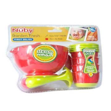 Nuby - Steam 'n' Mash & Freezer Pots