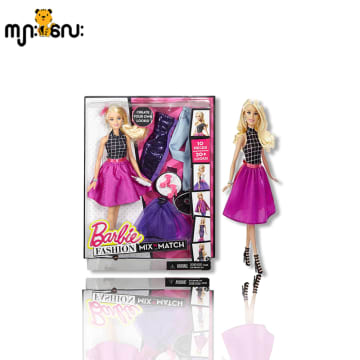BRB FSH MX N MTC DL AST (Barbie Fashion Mix N Match) Pink