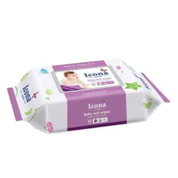Icona Baby Wet Wipes Fresh & Nourish(80pcs)