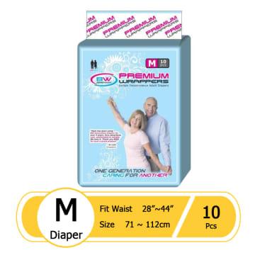 BW Premium Diaper - M (10 pcs)