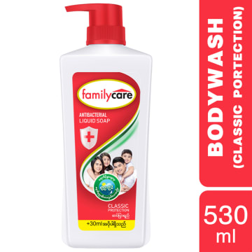 Familycare Bodywash Red Classic 530ml