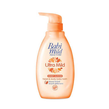 Babi Mild Ultra Mild Sweet Almond Bath 400 ml