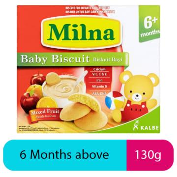 Milna-Baby Biscuit (Mixed Fruits)