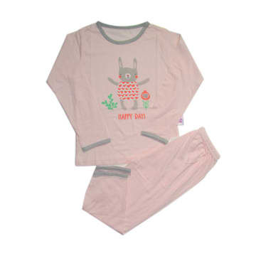 Baby M-Long Sleeves Kids Clothes Set (6 M )