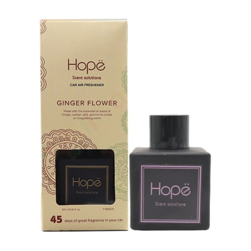 Hope - Car Diffuser Gingerflower (50ml)