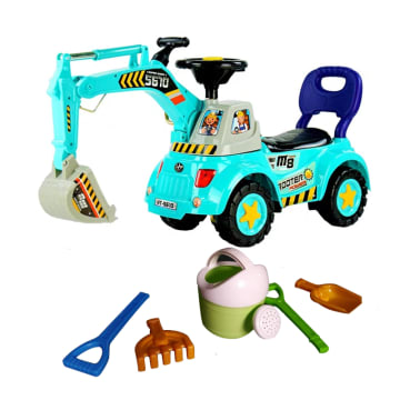 Excavator Digger Car with tools