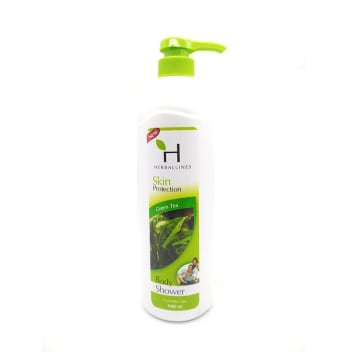 Herballines Shower Green Tea 1000ml