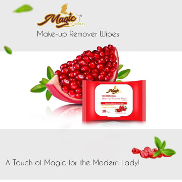 Magic Of Beauty - Make-up Remover Wipes  30 pcs