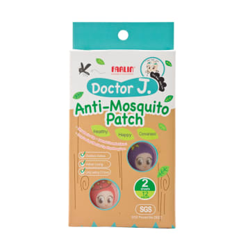 Anti Mosquito Patch (DOCTOR J.) FARLIN -BCK-001