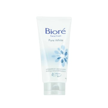 Biore Facial Foam Pure White (BBWFC Grey)