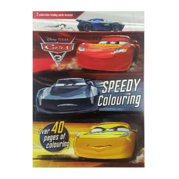 Disney Pixar Car 3 Speedy Colouring (Paperback)